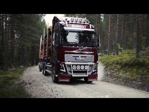 90-tonne vehicles tested on forest roads