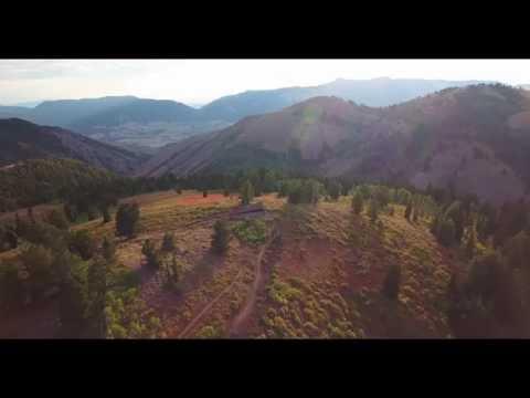 Airplane Point trail Powder Mountain