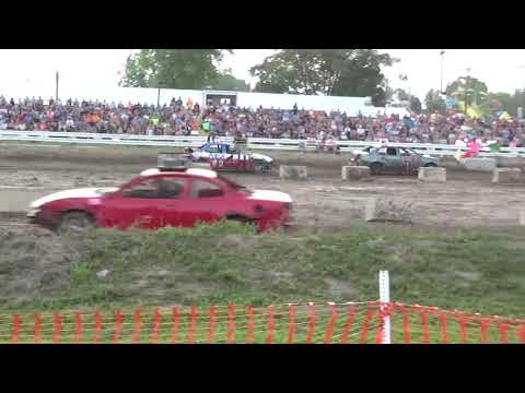 Arenac County fair 2018 Bump and Run (Stock) Heat 3 (8-4-2018)