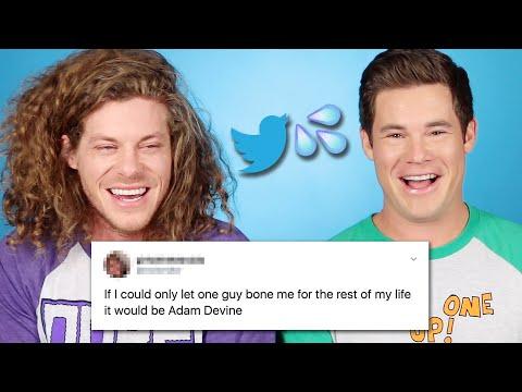 Adam Devine And Blake Anderson Read Thirst Tweets