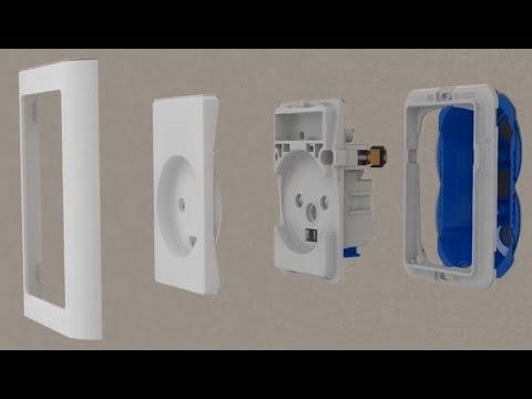 LK FUGA® montage og justering | Schneider Electric