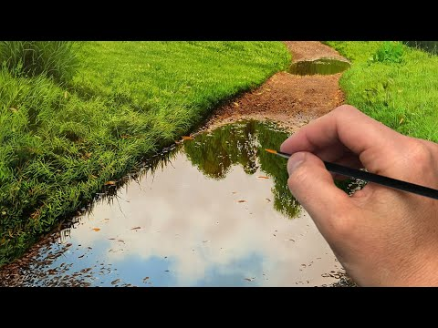 Painting a Puddle on a Path! | Episode 197