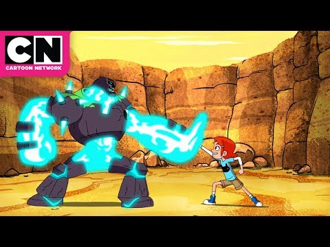 connectYoutube - Ben 10 | Meet Ben's NEW Alien SHOCKROCK! | Cartoon Network