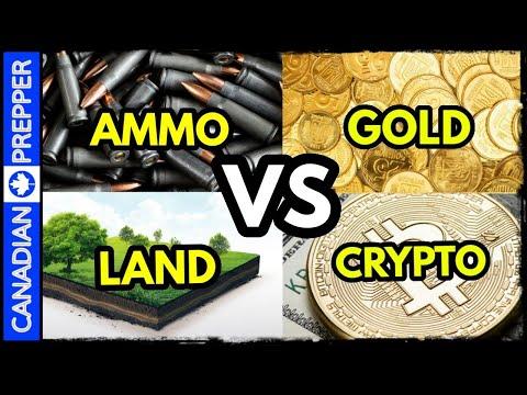 Food, Ammo, Land, Gold, Bitcoin or Stocks?