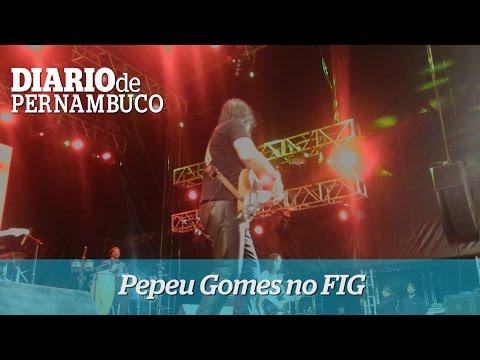 Pepeu Gomes surpreendeu no FIG
