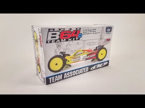First Look: Team Associated RC10 B64D 4WD 1/10 Electric Buggy