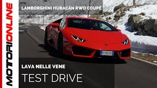 Lamborghini Huracán RWD Coupé | Test drive