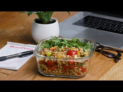 Make-Ahead Plant-Based Lunches