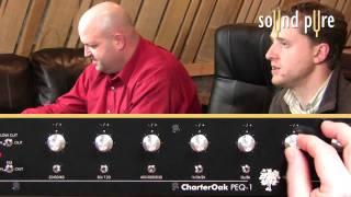 CharterOak PEQ1 - EQ on Full Mix Video Demo