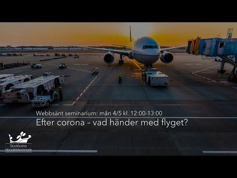 Efter corona – vad händer med flyget?
