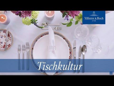 Eine Festtafel richtig decken – Die Servietten | Villeroy & Boch