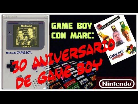 Gameboy con Marc: 30 Aniversario de la Gameboy