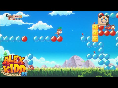 ALEX KIDD IN MIRACLE WORLD DX (PC / PS4 / PS5 / Switch / XBOX) - Gameplay en Español