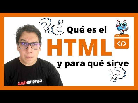 ¿Qué es HTML y para qué sirve? SENCILLO y bien explicado 💬