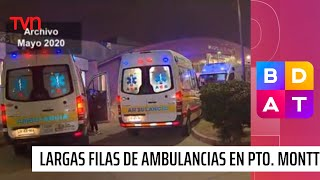 Reportan largas filas de ambulancias en el Hospital de Puerto Montt | Buenos días a todos