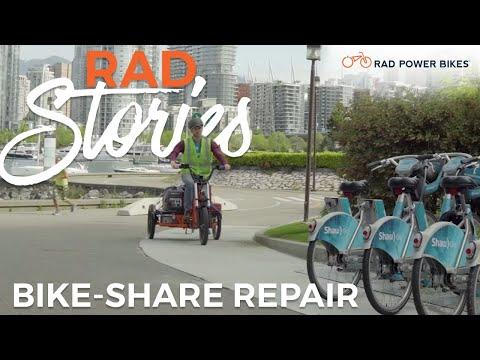 Bike-Share Repair in Vancouver | Rad Stories
