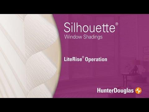 Silhouette® Window Shadings - LiteRise® Operation - Hunter Douglas