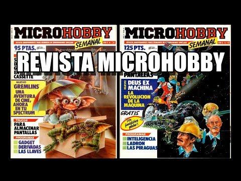 REVISTA MICROHOBBY COMENTADA VOL 5