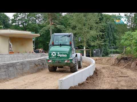 Zoo Rostock | Polarium-Baustelle