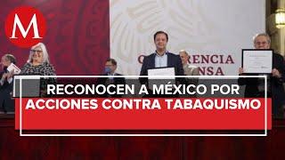 OMS entrega reconocimiento a México por prohibir uso de vapeadores