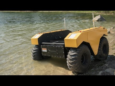 Warthog UGV - Outdoor Research Robot