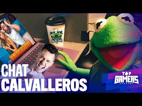 CHAT de los CALVALLEROS   TOP GAMERS ACADEMY
