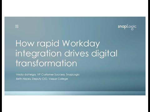 Webinar: How Rapid Workday Integration Drives Digital Transformation