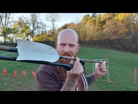 Atlatl and Homemade Darts