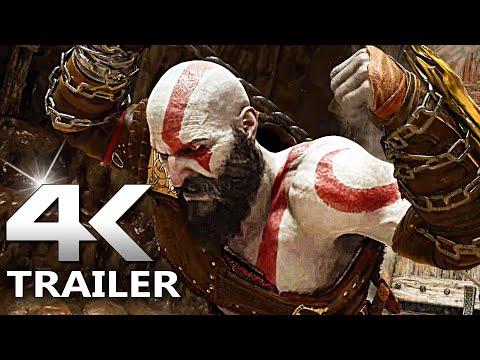 GOD OF WAR RAGNAROK Trailer 4K (2021)