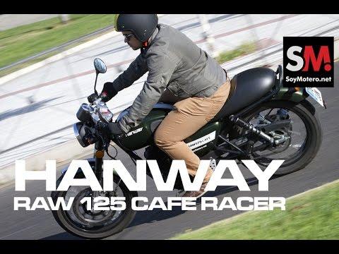 Prueba Neoclásica:  HANWAY RAW 125 Cafe Racer 2016