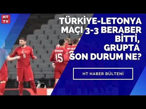 Türkiye-Letonya maçı 3-3 beraber bitti, grupta son durum ne?