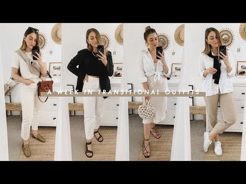 WEEK IN OUTFITS | TRANSITIONAL LOOKS FOR A/W | I Covet Thee