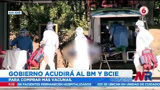 Gobierno acudirá al B y al BCIE para financiar la comprar de más vacunas contra la Covid 19