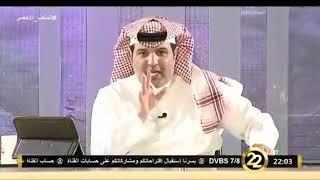 عبدالعزيز الهشبول : اذا عطينا الهلال 10 % من الإشادة قالوا مطبل