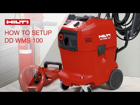 HOW TO set up the Hilti DD WMS100 water management system