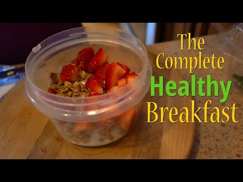 Simple Complete DELICIOUS and Healthy Breakfast