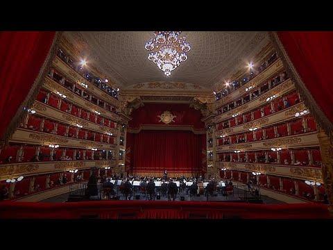 Musica: Bir konserde üç efsane; La Sacala, Riccardo Muti ve Viyana Filarmoni Orkestrası