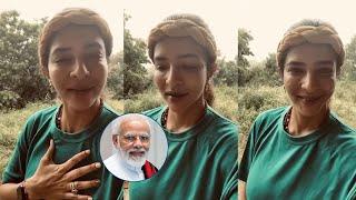 Actress Lakshmi Manchu Birthday Wishes To Prime Minister Narendra Modi | IG Telugu - IGTELUGU
