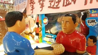 Obama the Arm Wrestler? Exploring Taipei's underground tech and toy scene