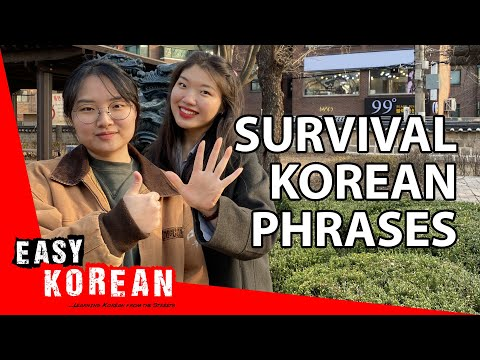 15 must-know expressions when travelling in Korea | Super Easy Korean 21