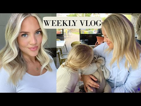 Getting my hair done, life with two kids & mini HM haul | Elanna Pecherle 2020