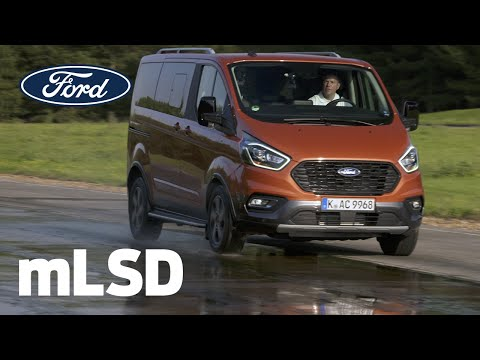 Diferențialul mecanic cu alunecare limitată | Ford Tourneo Custom Active | Ford Romania