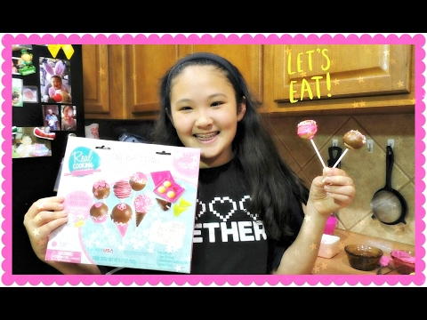 REAL COOKING CAKE POPS & CONES