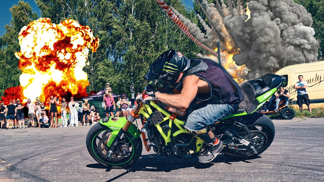 Contests at Moscow Stunt Session 2020