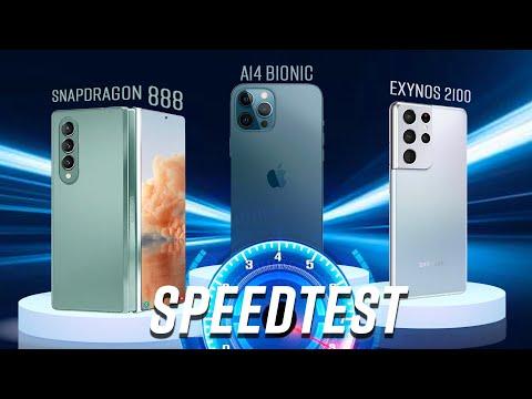 Galaxy Z Fold3 speed test & render test (vs. iPhone 12 Pro Max & Galaxy S21 Ultra): Đại tiệc TỐC ĐỘ