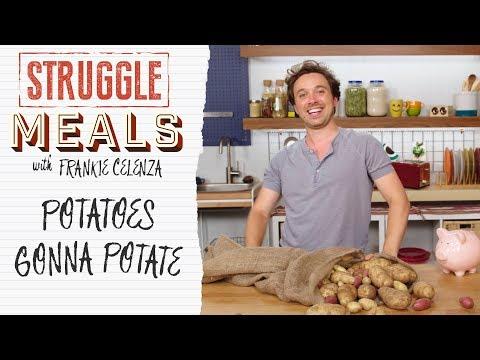 3 Cheap & Easy Potato Recipes | Struggle Meals