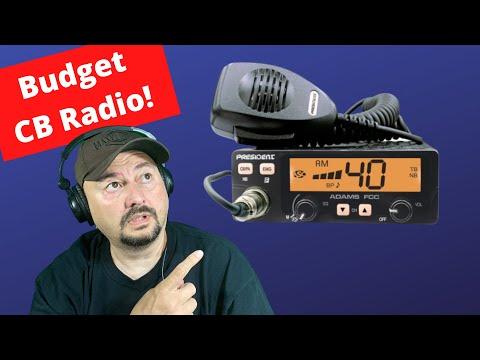 President Adams FCC CB Radio - TheSmokinApe