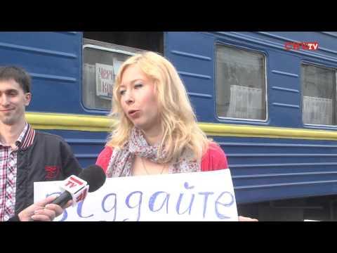 У Чернівцях в останню путь провели потяг «Чернівці-Ковель»