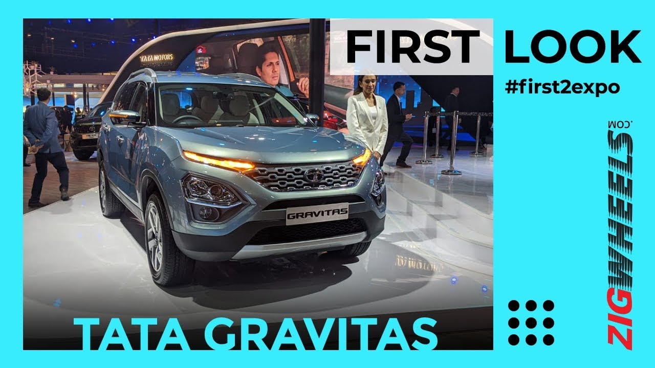 Tata Gravitas First Look Review Auto Expo 2020