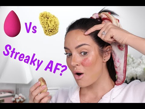 $30 Beauty Blender versus $10 Sea Sponge! Will It Work""